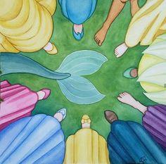 disney and princess All Disney Princesses, Disney Princess Drawings, Disney Princess Pictures, Disney Princess Art, Disney Pictures, Disney Drawings, Disney Girls, Disney Artwork, Disney Fan Art