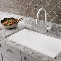 High performance sink design by our friends @blancoamerica  See the Diamond Undermount Sink On Modenus. #BLANCOOnModenus