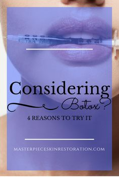 considering Botox / excellent safety record /  Botulinum toxin / Botox, Dysport, Xeomin / most common cosmetic procedure / injectable