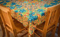 """Toalha de mesa em chita... """"Um Toque"""" - Personal Organizer e Pequenos Eventos, Silvia e Lígia."""