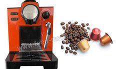 High Quality Capsule Coffee Machine from China Coffee Capsule Machine Supplier Coffee Making Machine, Coffee Machine, Espresso Machine, Coffee Maker, Coffee Type, Nespresso, Yummy Food, China, Drinks