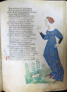 Cecco d'Ascoli L'Acerba , La Vaine gloire, Florence, Biblioteca Medicea Laurenziana  (1275-1325)