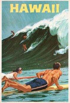 Hawaii poster.