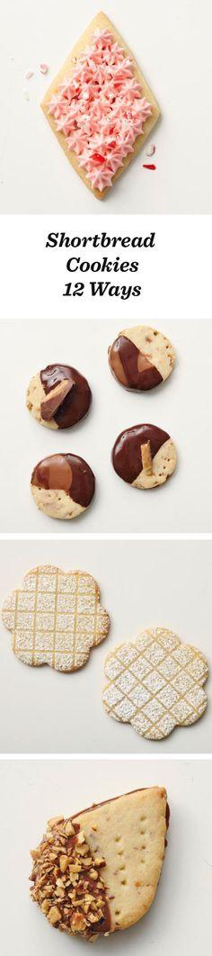 Four ingredients, endless shortbread possibilities: http://www.midwestliving.com/food/desserts/cookies/shortbread-cookies-12-ways/
