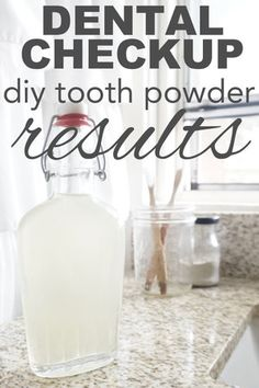 Dental Checkup: DIY Toothpowder Results – Going Zero Waste Does a DIY oral hygiene routine work as well as the store bought stuff? After a year of using homemade, zero waste mouthwash, toothpowder, and water piking, find out the results…. Homemade Toothpaste, Toothpaste Recipe, Natural Bleach, Green Tea Face, Check Up, Diy Lotion, I Give Up, Mouthwash, Oral Hygiene