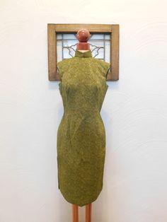 1960er Jahre Brokat Anzug Vintage 60er Jahre von RedsThreadsVintage