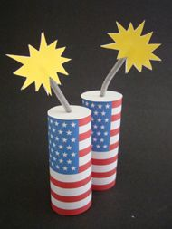 firecracker decorations | ... for the Whole Family: Part 1 (Decorations & Food) | All in the Family