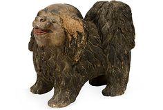 Chinese Chow Sculpture on OneKingsLane.com