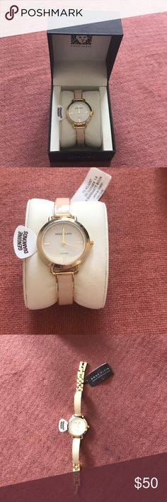 Brand new Anne Klein watch This is a brand new watch. Comes with the box. Size is adjustable. Anne Klein Jewelry