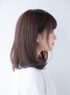 大人可愛いナチュラルミディ(髪型ミディアム)