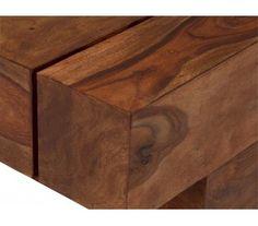 Sagar Sofabord 115 x 45 cm - Massiv træ