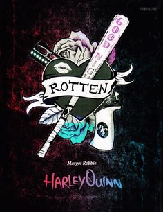 'Suicide Squad' Character Emblems: Harley Quinn