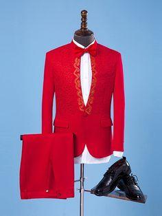 Floral Animal Print Slim Fit Wedding Dinner Suit One Button Blazer Men's Dress Suit Mens Tux, Mens Suits, Dress Suits For Men, Men Dress, Dinner Suit, Suit Pattern, Models, Blazers For Men, Suit Fashion