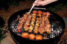 Chicken Kabobs #memorialday #recipe