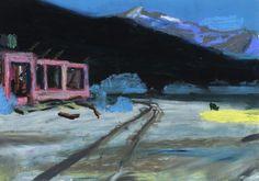 Idir Davaine / Nevada 3 - 2013 Pastel