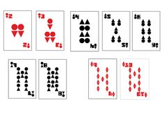 Playing Cards by Leticia Genesini, via Behance