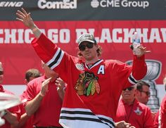 """""""Remember Chicago. It is better to live one day as a lion, than a thousand years as a lamb. So I ask you Chicago, live today with me and my teammates, AS LIONS!"""" -Duncan Keith"""