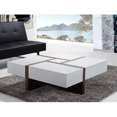 Modern Living Room Tables ethnicraft naomi salontafel | warm living rooms, living rooms and room