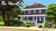 Woodland home at Jenba Sims • Sims 4 Updates