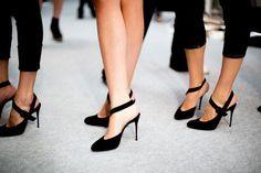 black pumps #MinimalistChic