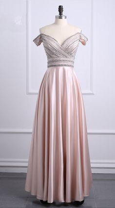 Crystal dress new formal A-line dear front party