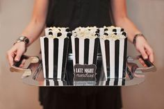 Hostess with the Mostess® - High Style Black, Gold and Peach Birthday Party