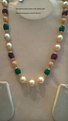 Indian Jewelry Sets, Silver Jewellery Indian, Gold Jewellery Design, Bead Jewellery, Gold Jewelry, Beaded Jewelry, Beaded Necklace, Beaded Bracelets, Baby Jewelry