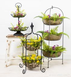 Create stunning floral displays with our multi-tiered stands!