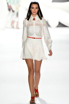 Carolina Herrera Spring 2013 RTW - Review - Collections - Vogue