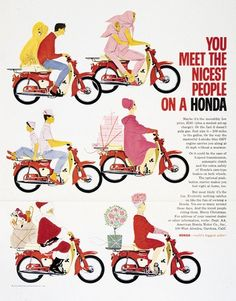 You meet the nicest people on a #Honda. #motorcycle