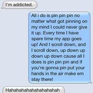 all I do is pin, haha