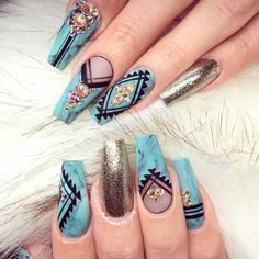 Cute acrylic nails are just the explosion of creativity. Check out the best ideas of artificial nails!