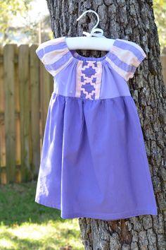 Rapunzel Dress (Etsy)