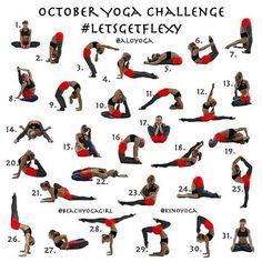 Announcing the October Yoga Challenge sponsored by our friends Alo Yoga For October Kerri V and Kino MacG… Yoga Challenge, Yoga Flow, Yoga Meditation, Alo Yoga, Yoga Poses For Men, Yoga World, Yoga For Flexibility, Flexibility Training, Ashtanga Yoga