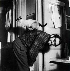 Allen Ginsberg & Cat