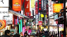 Seoul is known for its bustling shopping scene (Credit: Credit: Chung Sung-Jun/Getty)