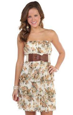 Deb Shops #floral #dress