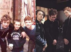 Then and now. Gallagher boys in season one and season six
