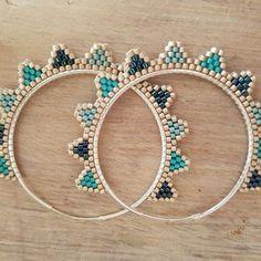 61 Ideas Diy Jewelry Earrings Hoops For 2019 Bead Jewellery, Seed Bead Jewelry, Seed Bead Earrings, Crystal Earrings, Beaded Earrings, Diy Jewelry, Beaded Jewelry, Handmade Jewelry, Jewelry Design
