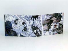 Comic Book Wallet// X-Men// Beast and Iceman, $4.00