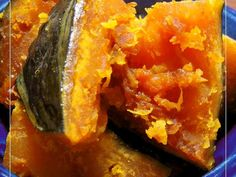 Let's cook Our Family's Simmered Kabocha Squash by yourself! Home Recipes, Asian Recipes, Dinner Recipes, Cooking Recipes, Ethnic Recipes, Japenese Food, Cafe Food, Camping Meals, Side Dishes