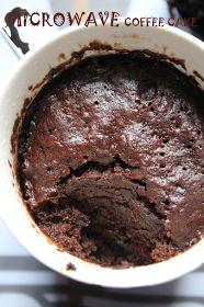 Microwave Mocha Mug Cake Recipe / Microwave Coffee Cake Recipe - Yummy Tummy Coffe Mug Cake, Nutella Mug Cake, Chocolate Mug Cakes, Chocolate Recipes, Chocolate Pies, Microwave Baking, Mug Cake Microwave, Microwave Recipes, Fig Cake