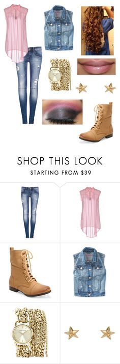 """""""Untitled #202"""" by alyssa190 ❤ liked on Polyvore featuring beauty, Pull&Bear, Shivadiva, Aéropostale, Anne Klein and momocreatura"""