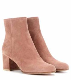 Margaux Mid suede ankle boots | Gianvito Rossi