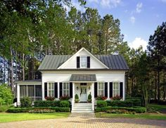 Charmant Low Country House Plans Cottage