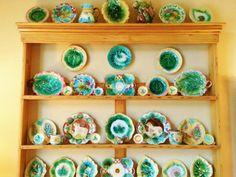 Beautiful Etruscan Majolica Display