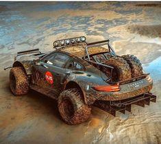 Porsche 911 4-wheel drive master in mud #dreamyourporsche #porsche