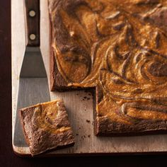 Caramel-Swirl Brownies From Better Homes and Gardens, ideas and improvement projects for your home and garden plus recipes and entertaining ideas.