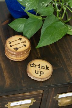 DIY Drink Coasters |