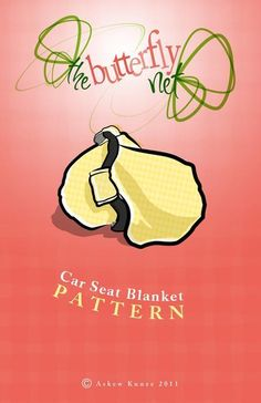 pdf pattern for car seat cover with elastic. Terrible pictures on the site, no reviews, maybe it will work?